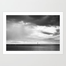 The Lighthouse 2 Art Print