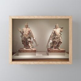 Ancient Asian warriors Framed Mini Art Print