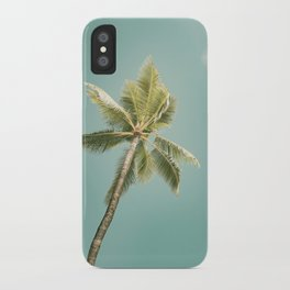 palm tree ver.summer 02 iPhone Case