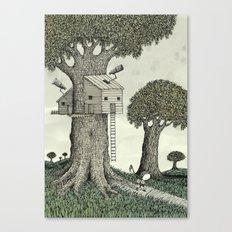 'Treehouse' Canvas Print
