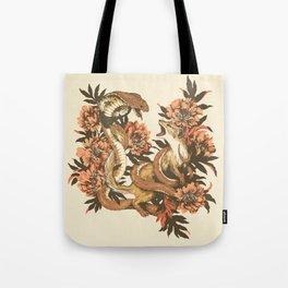 Snake & Mongoose Tote Bag