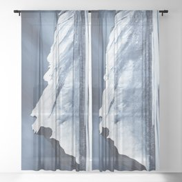 Mount Rundle Sheer Curtain