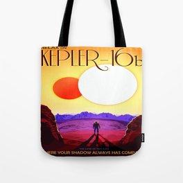 Vintage poster - Kepler-16b Tote Bag