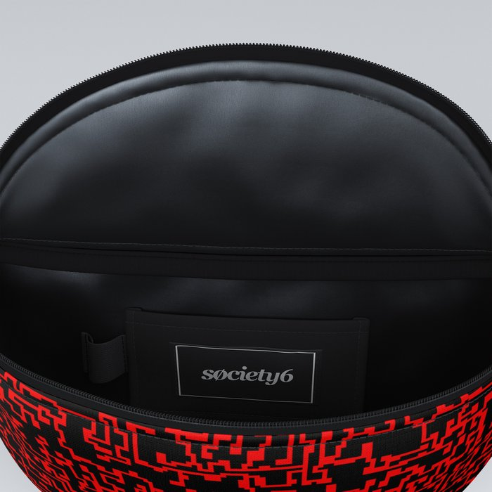 thought 2, red on black Fanny Pack