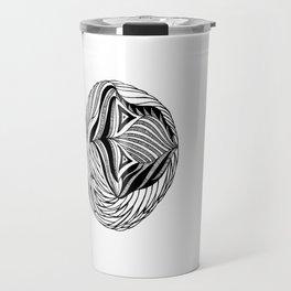 Zentangle Circle Travel Mug
