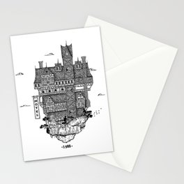 Hotel mountain Stationery Cards