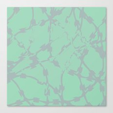 Thorns Mint Canvas Print