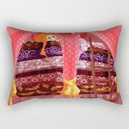 The princess and the pea Rectangular Pillow