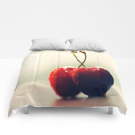 Gourmet cherry Comforters