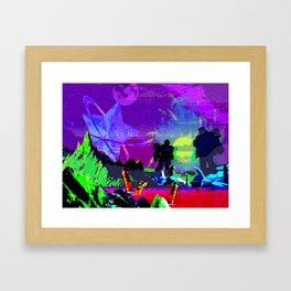 Conquered Framed Art Print