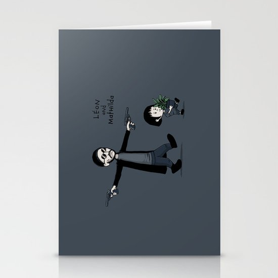 Leon and Mathilda Stationery Cards