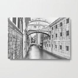 Bridge of Sighs Metal Print