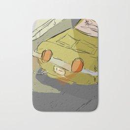 Poorly Drawn Car Bath Mat