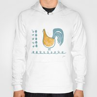 swedish Hoodies featuring Swedish Hen by Chet and Dot