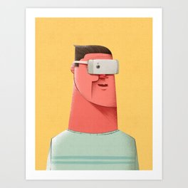New Reality Art Print