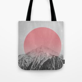 Dreaming of Pink Mountains Tote Bag