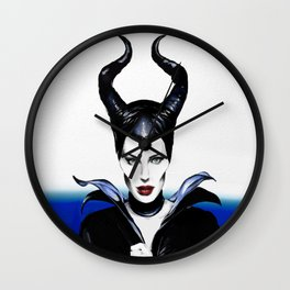 Maleficient Wall Clock