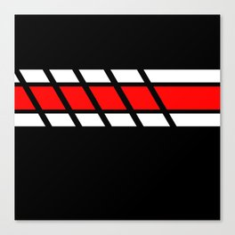 Team Colors 4...red Canvas Print