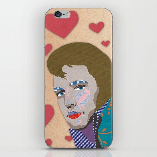 love the king iPhone & iPod Skin
