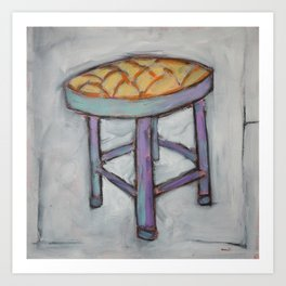 Short Stool - Chair  Art Print