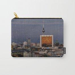 Berlin Skyline I Sunset I Germany I Fine art I Photography Carry-All Pouch