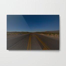 Nevada Highway Metal Print
