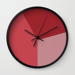 Color block #1 Wall Clock