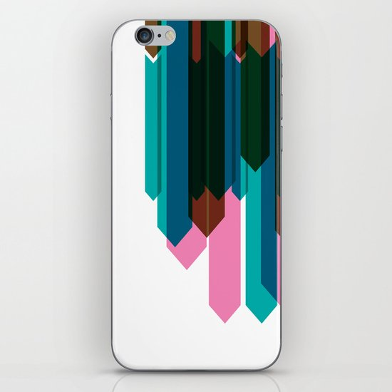 Arrow Collage iPhone Skin