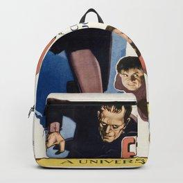 Vintage poster - Frankenstein Backpack