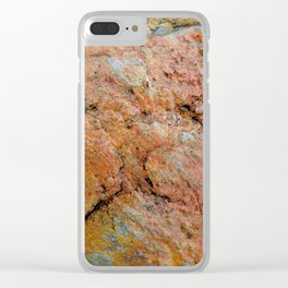 Stone Age Clear iPhone Case