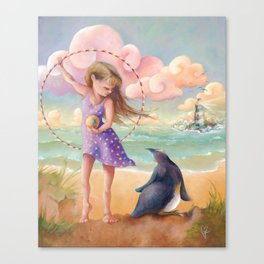Z imagination Felicity and Fritz, Orphic Wanderers Canvas Print