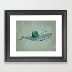Save the Planet II Framed Art Print
