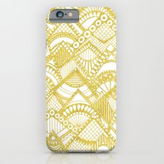 Golden Doodle mountains Slim Case iPhone 6s