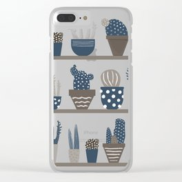 Plant Power Clear iPhone Case