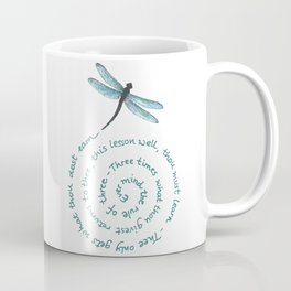 Witches rule of Three and dragonfly Coffee Mug