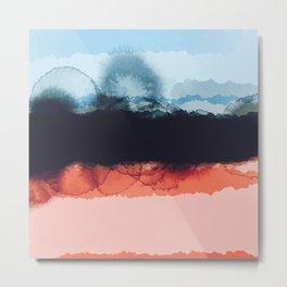 Abstract B4 Metal Print
