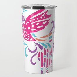 Boho Bird Travel Mug