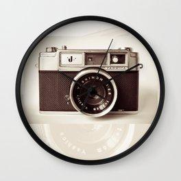 old camera photography, Camera photograph Wall Clock