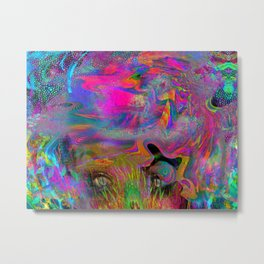 Mixed Episode of The Mind Metal Print