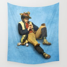 The Piper of Hamelin Wall Tapestry