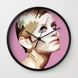 Geometric Twiggy Wall Clock