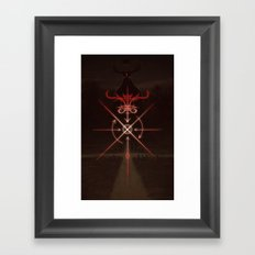 Sigil of the Crossroads Framed Art Print