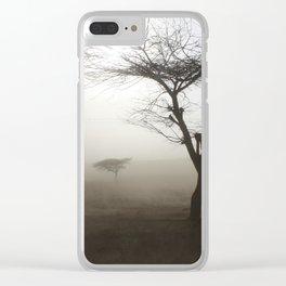 Ethiopian Dust Storm Clear iPhone Case