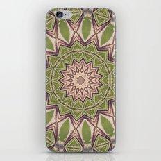 Soft Green Mandala Kaleidoscope A460 iPhone & iPod Skin