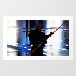 Duel of the Fates Art Print