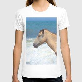 Watercolor Horse 47, Assateague Pony, Assateague, Maryland, The Ultimate Combover T-shirt