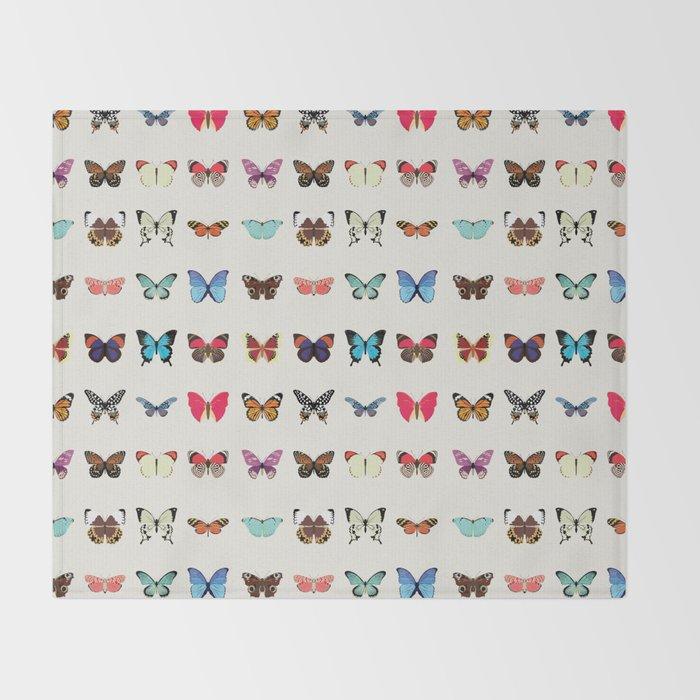 Butterflies Throw Blanket