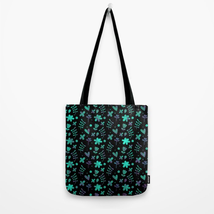 Colorful Lovely Pattern V Tote Bag