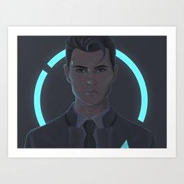 Connor Fanart Art Print