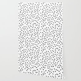 Flecks of Black Wallpaper